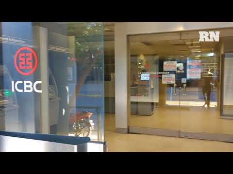 El paro bancario se siente en el Centro de Neuquén