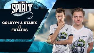 Team Spirit - COLDYY1 & starix vs eXtatus