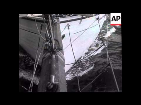 Trading Vessels In Hobart Regatta
