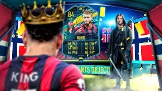 HOW TO SCORE VOLLEYS?! 84 PLAYER MOMENTS KING PLAYER REVIEW FIFA 20 Ultimate Team