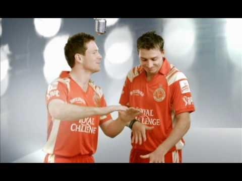 Kingfisher IPL Teams Ad