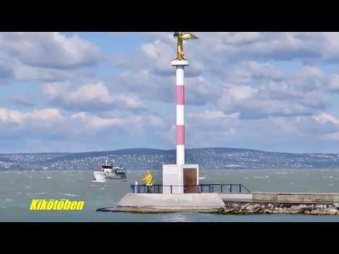 Füred-Siófok: a szeles Balatonon