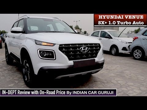 Hyundai Venue SX Plus 1.0 Turbo Automatic In Depth Review with Price,Features  | Venue SX+ Review