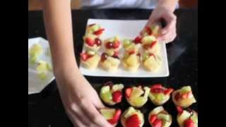 How To Make Fruit Tarts.