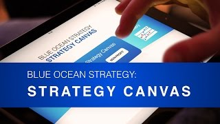 Blue Ocean Strategy: Strategy Canvas App Intro