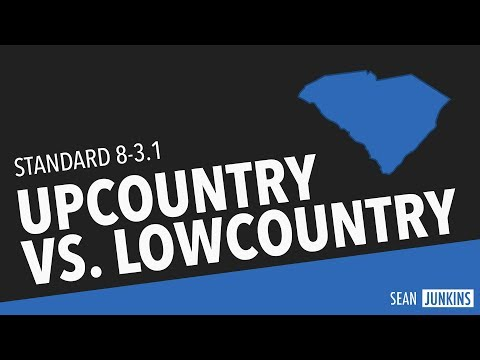Upcountry vs. Lowcountry (8-3.1)