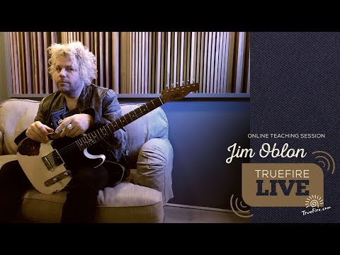 TrueFire Live: Jim Oblon - RetroACTIVE Electric Blues