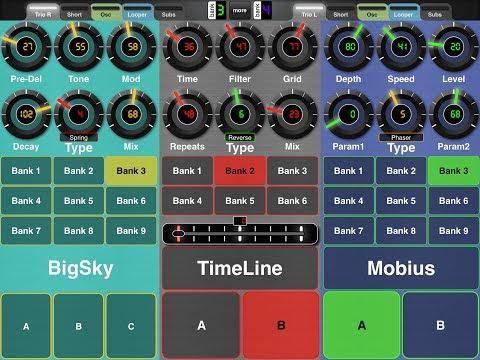 Strymon Trio iPad App - Midi Designer