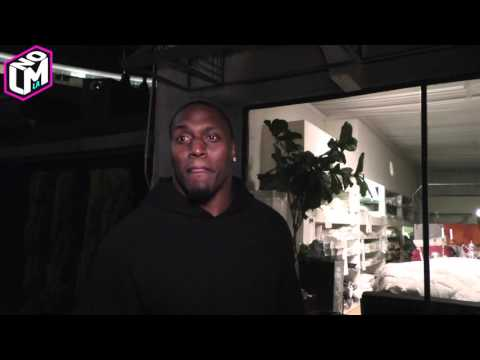 NFL Player Takeo Spikes I Hustle Sandwiches At The Masters Tournament