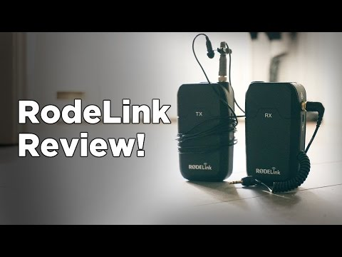 RodeLink Wireless Filmmakers Kit Review