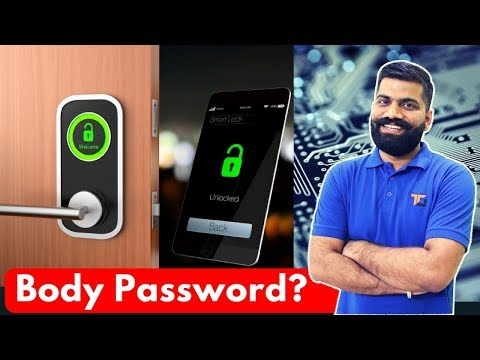 Smart Passwords? Passwords via Body? Better than WiFi or Bluetooth?