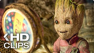 GUARDIANS OF THE GALAXY VOL. 2 Best Baby Groot Clips (2017)
