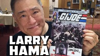 G.I. Joe Artist Larry Hama Draws a Commissioned Piece of Art