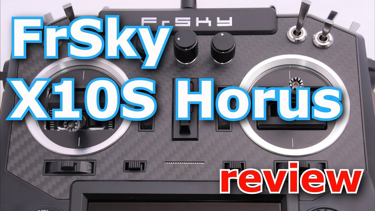 FrSky X10S Radio Transmitter Review