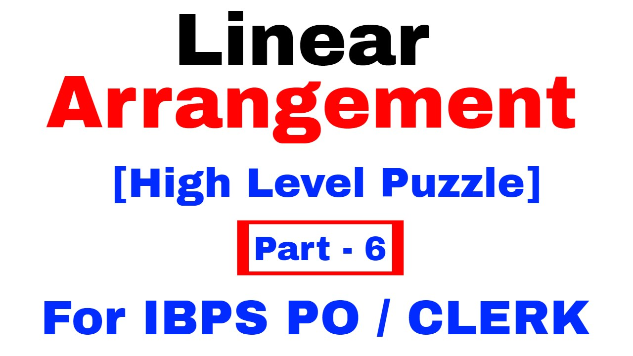 Pdf For Puzzle And Seating Arrangement