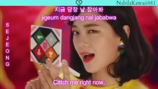 mv gugudan 구구단 a girl like me   han rom eng lyrics