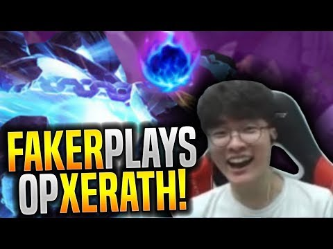 Faker Plays the Most OP Champion on this Meta! - SKT T1 Faker Plays Xerath With New Runes! | SKT T1