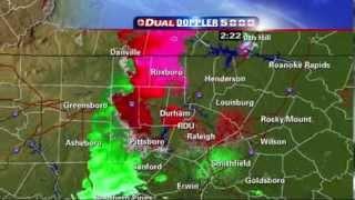 2011 04 16 wral tv live tornado coverage 220pm to 250pm