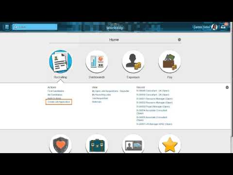 Recruiting Worklet Overview