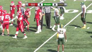 Central Lakes College Football vs. Mesabi Range College 9/14/2019