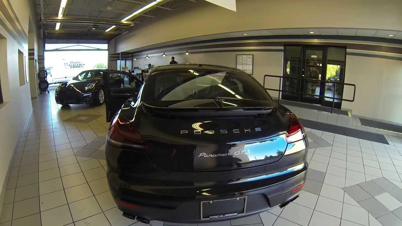 porsche panamera gts youtube - Porsche Panamera 2014 Black