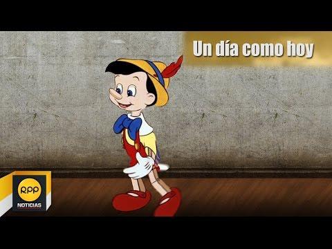 Un día como hoy 24/11│Nació el autor de Las Aventuras de Pinocho