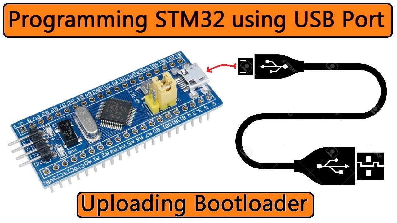 STM32 Bootloader | Programming STM32F103C via USB Port