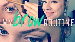 My Brow Routine! 2014 Thumbnail