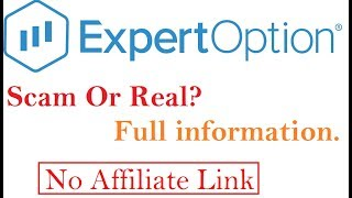 Expert Option Fake or Real Explained Every Thing About ExpertOption Binary Treading in Hindi -Part 1