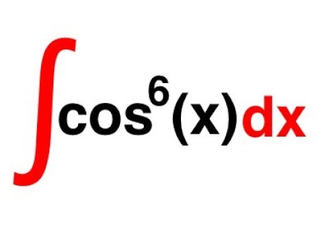 integral of cos^6(x)