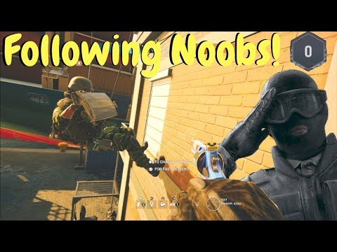 Noob Hunting in Rainbow Six Siege