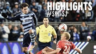 HIGHLIGHTS: Sporting Kansas City vs San Jose Earthquakes | March 22th, 2013