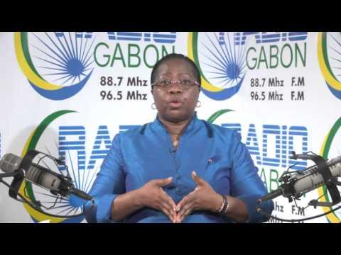 Radio Gabon - Denise MEKAM'NE, Ministre de l'Enseignement supérieur