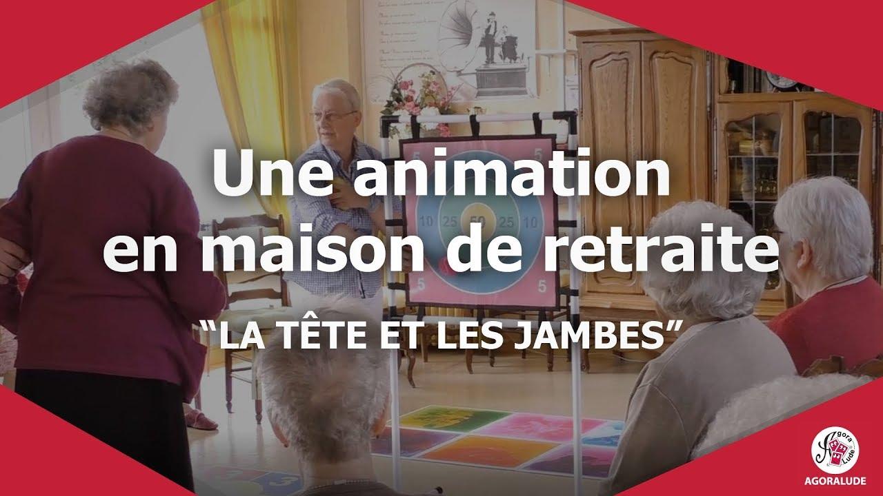 Une Animation En Maison De Retraite La Tête Et Les Jambes