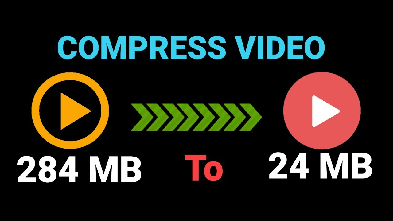 How to Compress Large Video Files Without Losing Quality 2017 [Upto 90%] - YouTube
