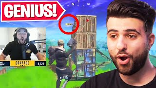 Reacting to the SMARTEST Plays in Fortnite History...
