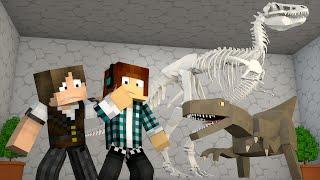 Minecraft : CASA DOS VELOCIRAPTORS !! - ARK CRAFT SURVIVAL #46
