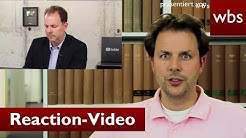 Reaction-Videos: Illegaler Content-Klau oder legal? | Rechtsanwalt Christian Solmecke