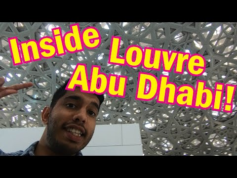 Inside the Louvre Abu Dhabi! (2019)