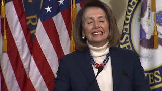 Nancy Pelosi Holds Press Conference 1/17/19 I Am Not For A Wall & State Of The Union