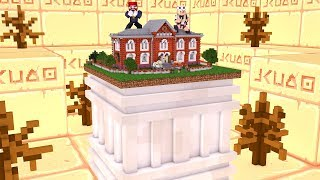 So lebst du in der kleinsten Schule (1 Block) 😳🏠 in Minecraft