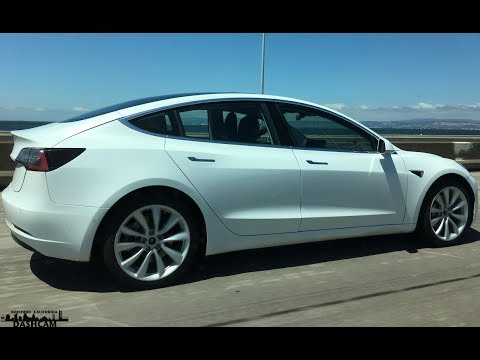 Tesla Model 3 Spotted Testing Prototype