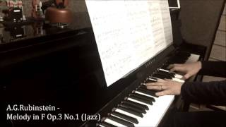 Rubinstein - Melody in F Op.3 No.1 (Jazz)
