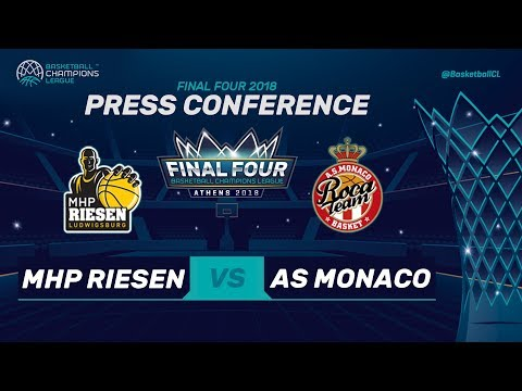Press Conference - MHP Riesen Ludwigsburg v AS Monaco