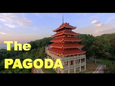 AMAZING Pagoda in Reading Pennsylvania