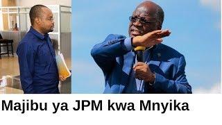 JPM amjibu Mnyika