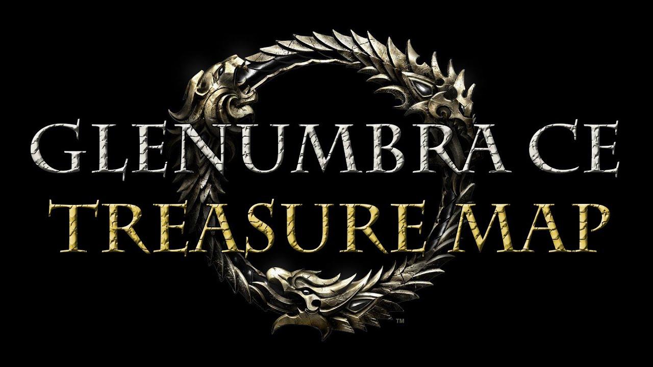 Elder Scrolls Online Glenum CE Treasure Map Location on