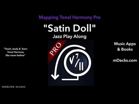 Satin Doll Play Along 6 Using Mapping Tonal Harmony Pro Music Education Video