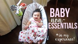 BABY NON-ESSENTIALS 👶🏻 + Small Space Tips!
