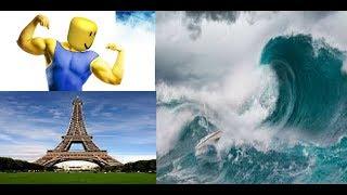 roblox natural disasters video para luckas